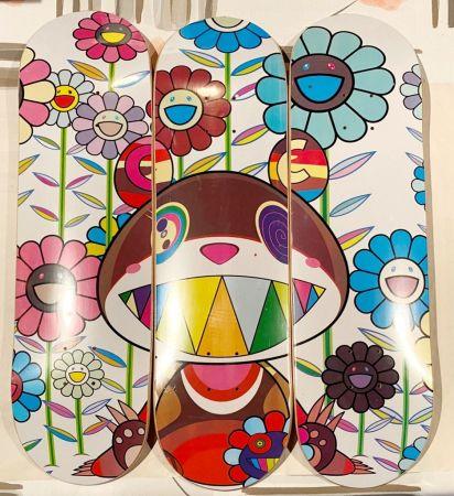 Siebdruck Murakami - Eden Skateboard Deck (Set of 3)