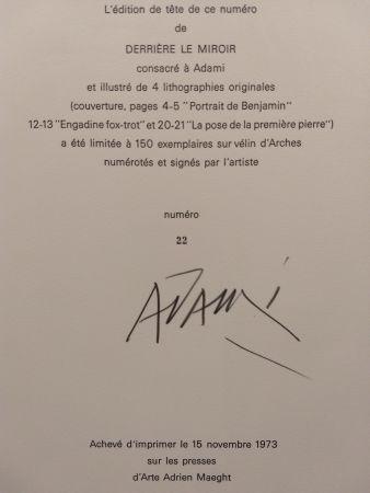 Illustriertes Buch Adami - Edition Tete DLM 206
