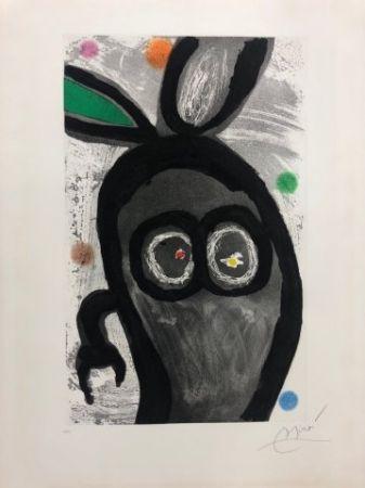 Radierung Und Aquatinta Miró - El rey de los conejos