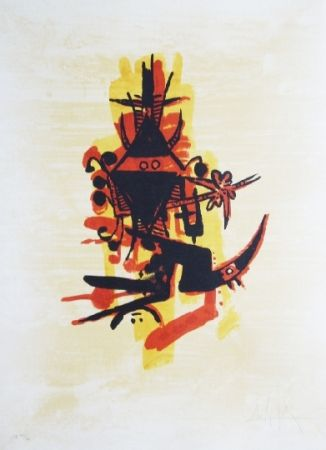 Lithographie Lam - El ultimo viaje del buque fantasma - 10