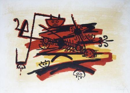 Lithographie Lam - El ultimo viaje del buque fantasma - 4