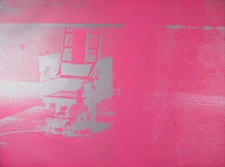 Siebdruck Warhol - Electric Chair (FS II.75)
