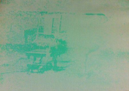 Siebdruck Warhol - Electric Chair (FS II.80)