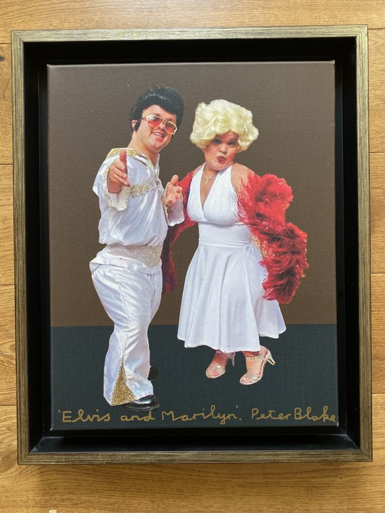 Keine Technische Blake - Elvis & Marilyn