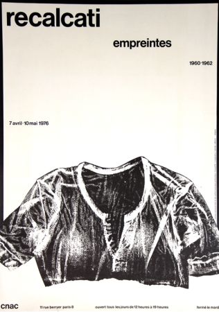 Lithographie Recalcati - Empreintes Centre National D'Art Contemporain