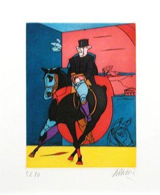 Lithographie Adami -