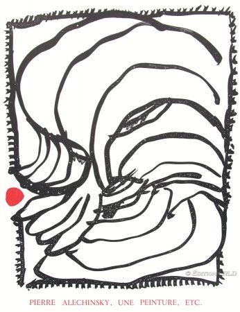 Illustriertes Buch Alechinsky - En Puisaye N°3
