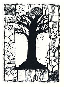 Lithographie Alechinsky - Encore là