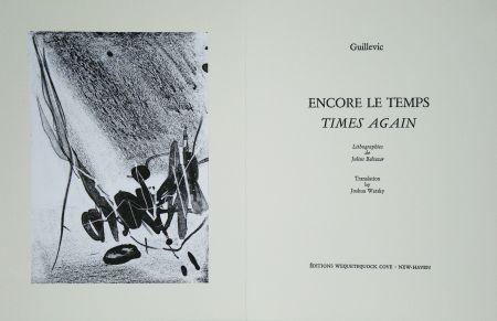Illustriertes Buch Baltazar - Encore le temps