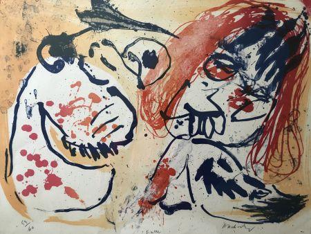 Lithographie Alechinsky - Encre