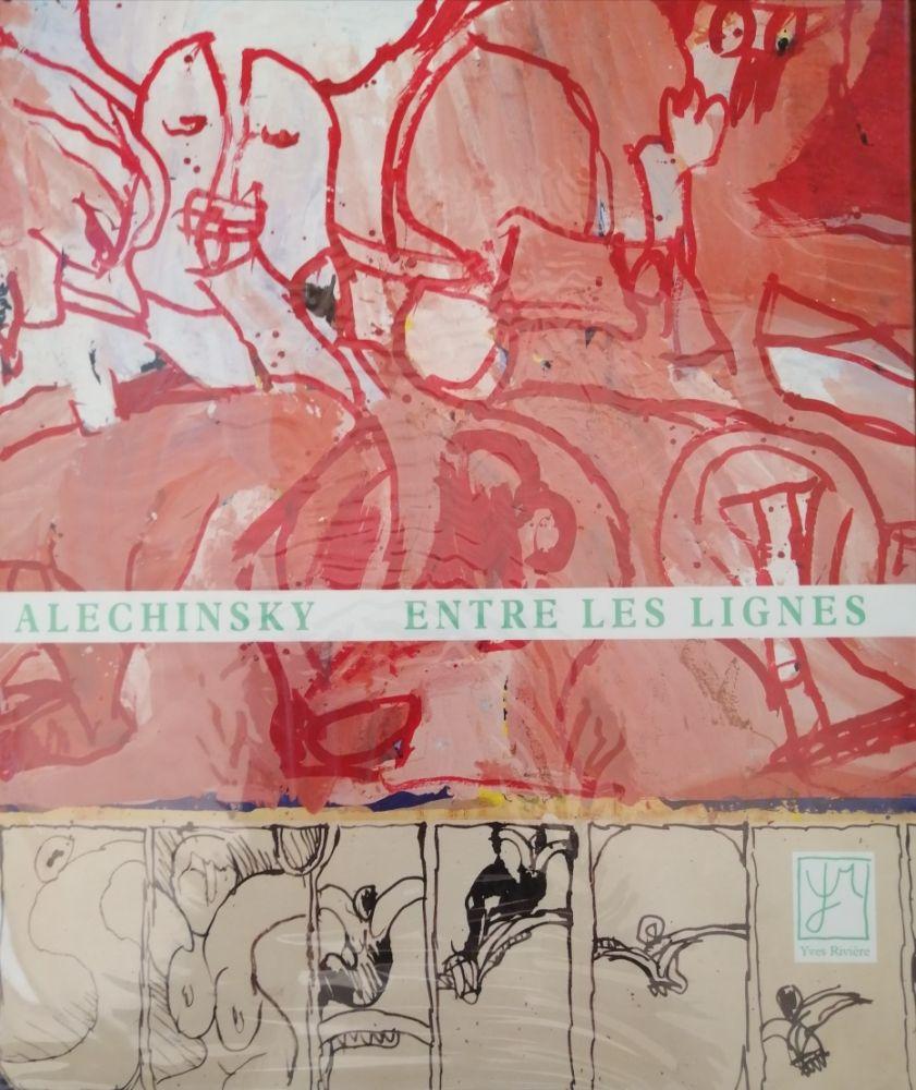 Illustriertes Buch Alechinsky - Entre les lignes