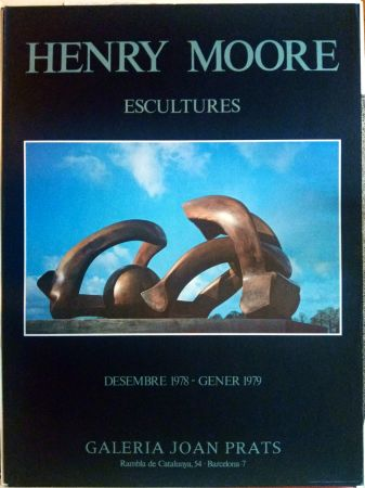 Plakat Moore - Escultures