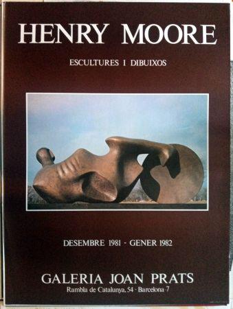 Plakat Moore - Escultures i Dibuixos