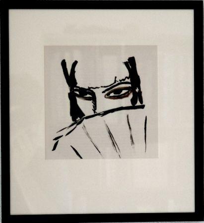 Lithographie Van Dongen - Espagnole