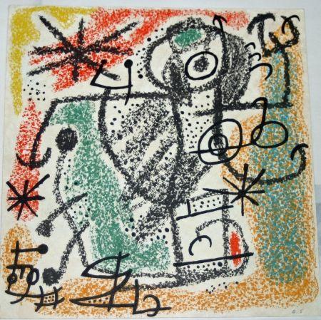 Lithographie Miró - Essences de la terra BAT