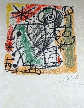 Lithographie Miró - Essences de la terra complete set of 9 lithographs