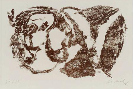 Lithographie Alechinsky - Et ...