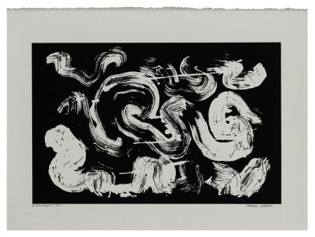 Siebdruck Verdier - Etude de la coiffe de Margareta ou la pensée labyrinthique