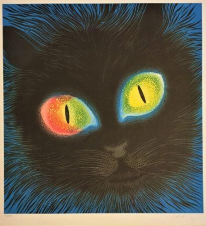 Lithographie Vasarely - Etude de Lumiére