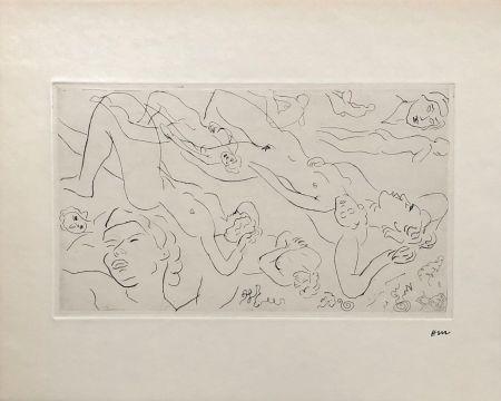 Stich Matisse - Etude de nu