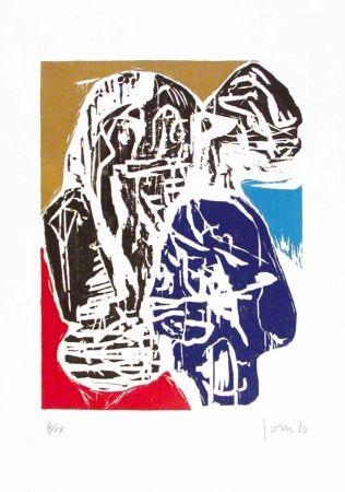 Illustriertes Buch Jorn - Euphorismen.