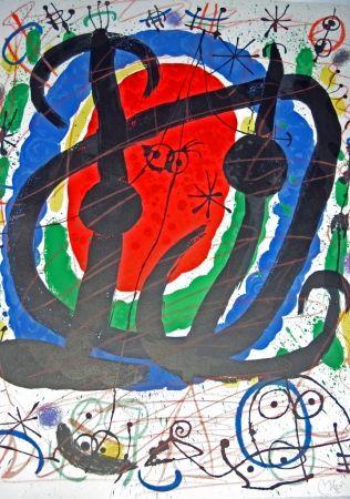 Lithographie Miró - Exhibition XXII Salon de Mai
