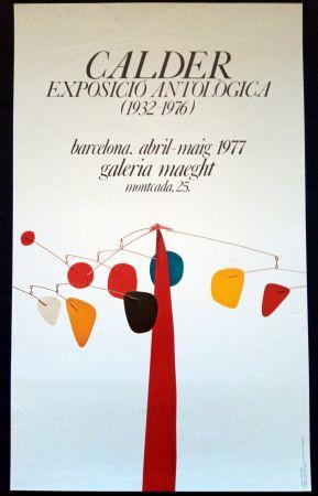 Plakat Calder - Exposició Antològica 1932 1976