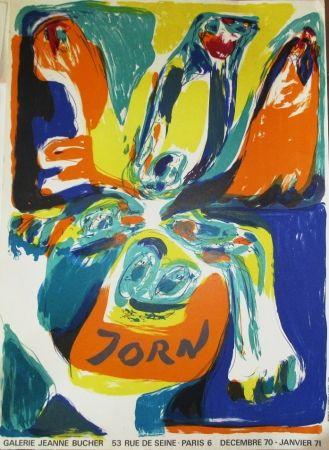 Plakat Jorn - Exposition Galerie Jeanne Bucher 70-71