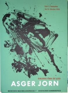 Lithographie Jorn - Exposition Galerie VAN DE LOO