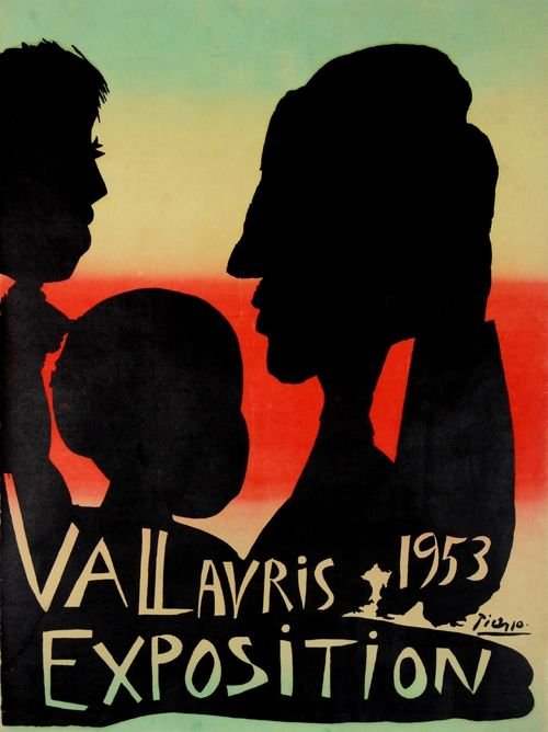 Lithographie Picasso - Exposition Vallauris 1953
