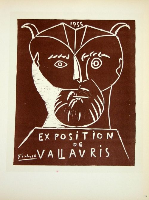 Lithographie Picasso (After) - Exposition  Vallauris 1955