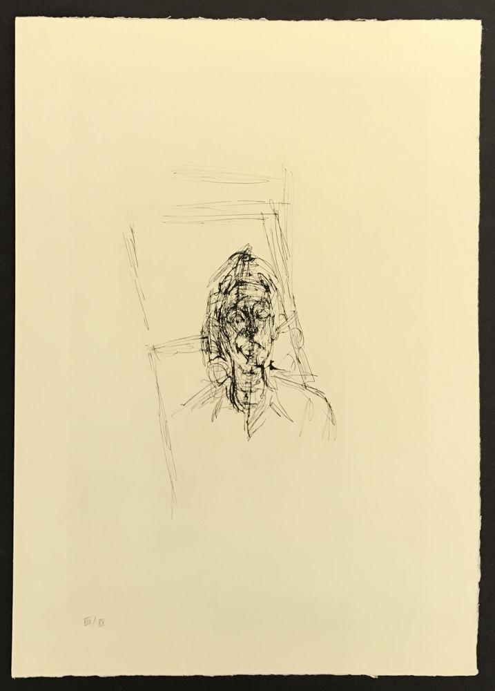 Stich Giacometti - Face from La Magie Quotidienne