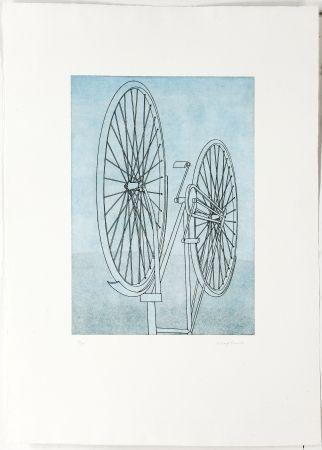 Stich Klapheck - Fahrrad Ii - Die Fragwürdigkeit Des Ruhms (The Dubiousness Of Fame - Le Caractère Douteux De La Renommée)