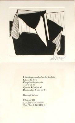 Illustriertes Buch Dorny - Falaises du doute
