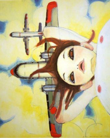 Lithographie Takano - Fallin' Manma Air