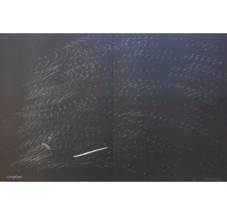 Lithographie Hartung - Farandole B