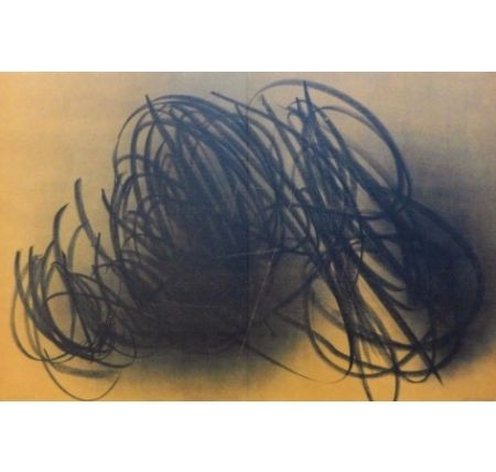 Lithographie Hartung - Farandole E