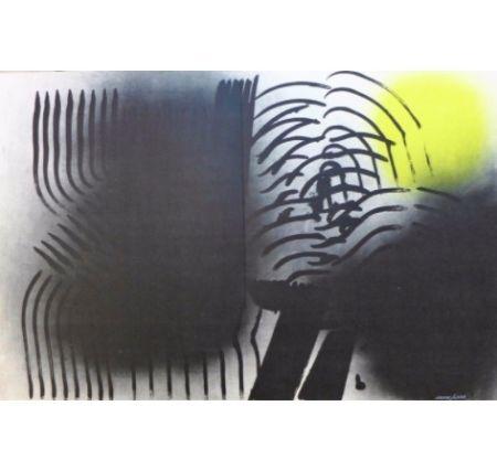 Lithographie Hartung - Farandole F