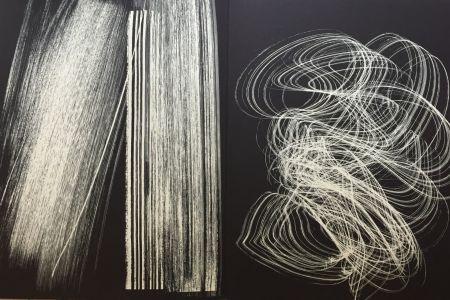 Lithographie Hartung - Farandole L