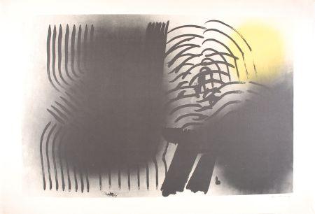 Lithographie Hartung - FARANDOLE : L 1970-2