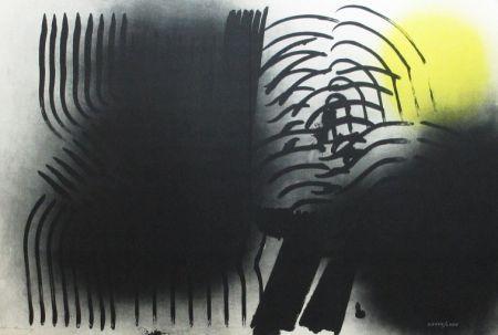 Lithographie Hartung - Farandole n°6