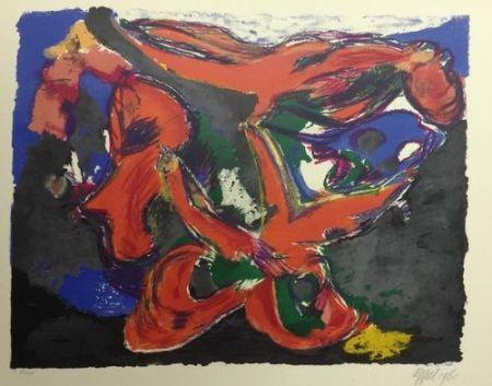 Lithographie Appel - Faune Nocturne