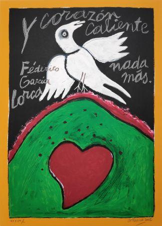 Siebdruck Corneille - Federico Garcia Lorca
