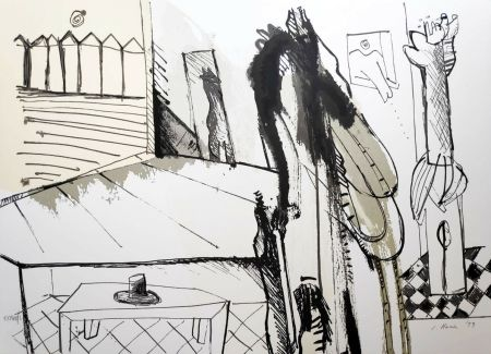 Siebdruck Llona - Federico Garcia Lorca