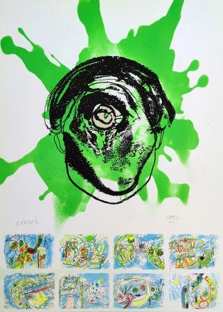 Siebdruck Matta - Federico Garcia Lorca