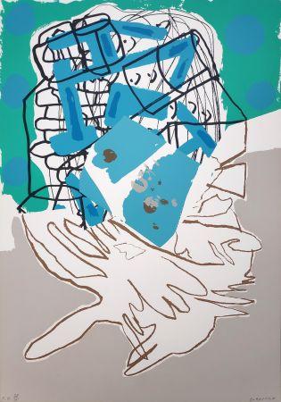 Siebdruck Gordillo - Federico Garcia Lorca