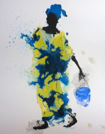 Siebdruck Barcelo - Femme