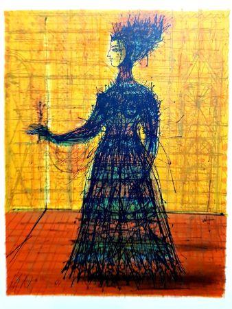 Lithographie Carzou - Femme