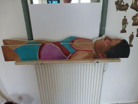 Keine Technische Maddox - Femme allongée en maillot une pièce