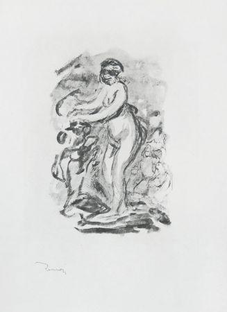Keine Technische Renoir - Femme au cep de vigne, I Variante (Woman by the Grapevine, First Variant)